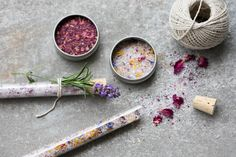 Homemade sleepy bath salts made using the Thermomix. Dried Rose Petals, Flower Petals, Flowers, Bath Salts Recipe, No Salt Recipes, Free Recipes, Skincare Blog, Homemade Gifts, Homemade Recipe