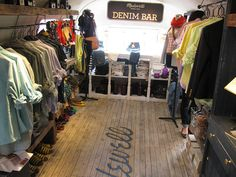 Inside Madewell's Airstream Trailer, Now Parked at Astor Place - Pop-Up Shops - Racked NY