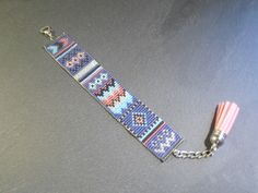 Bracelet Manchette été indien ! #SalonCSF www.creations-savoir-faire.com