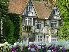 Pashley Manor, East Sussex, UK This is one of my favourites and is one to visit if in the area, famous for its amazing tulip display