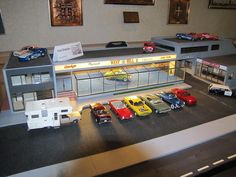 Dodge Dealership Diorama.