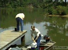 Bill Dance Fishing Blooper