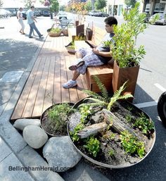 parklet vegetation