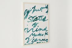vintage cy twombly exhibition posters