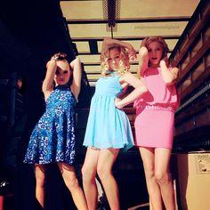 sassy maddie, chloe and paige <3