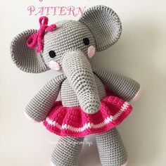 Hi Everyone Updated version of my elephant pattern is now available in my ETSY shop. Link in my profile . #amigurumi #crochet #tigisi #etsy #etsyseller #pattern #elephant #elephantpattern #nakoileoruyorum #fil #orgufil #handmade #crochetpattern #likeforlike #like4like #likeforfollow #likeforfollowers #igers #instadaily #instapic #instagram