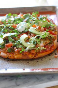 Loaded Fajita Pizza from www.laurenslatest.com