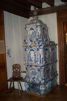 Swedish tile stove