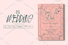 Wedding Invitation @creativework247