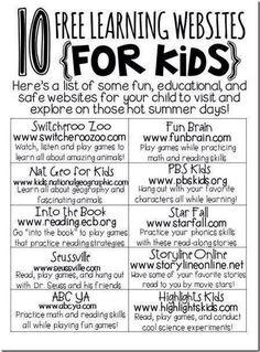 educational kids websites
