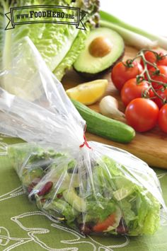 Personal Salad in a Bag | Food Hero - Healthy Recipes that are Fast, Fun and Inexpensive