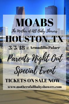 Houston parenting event MOABS