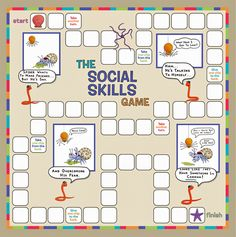 Child Therapy Toys - The Social Skills Game