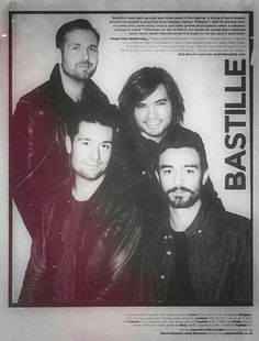 bastille covers human