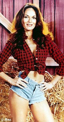 The Original Daisy Duke... Screw riding in the General Lee. I wanted to be riding shotgun in the Dixie!