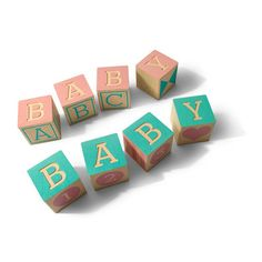 Uncle Goose Decorative Baby Blocks - Baby Shower Gift Set - 4 Blocks - Made in the USA (bestseller) Cadeau Baby Shower, Deco Baby Shower, Baby Showers, Shower Party, Baby Hamper, Baby Baskets, Best Baby Shower Gifts, Baby Gifts, Wooden Baby Blocks