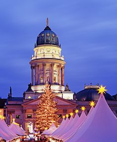Gendarmenmarkt Christmas Market in Berlin, Germany