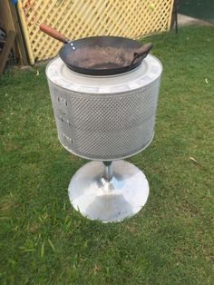 I have a fire pit that is made of a stainless steel drum over a chrome steel base They work really well due to the amount of holes in the drum I also have ..., 1111542986