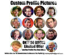 50-dollar-profile-pics-custom by RodneyPike