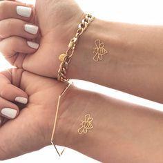custom bee tattoos