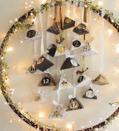 Hula hoop advent calendar- Hula Hoop Reifen Adventskalender Hula hoop advent calendar Calendar / Tinker advent calendar / diy advent calendar / make your own advent calendar - Advent Calendar Diy, Calendrier Diy, Halloween Decorations, Christmas Decorations, Diy Cadeau Noel, Christmas Crafts, Xmas, Diy Crafts To Do, Navidad Diy