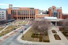 Ohio State University hospital.  I was there... probably half a dozen times in my childhood for almost-broken bones.  That's where I learned to pop a wheelie in a wheelchair.