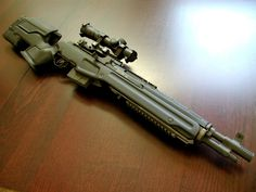 M1A with custom synthetic furniture