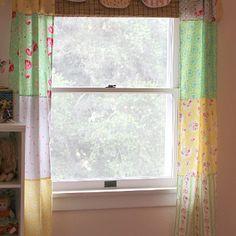 Fat Quarter Patchwork Curtains Blog Thrifty Home Makeover: DIY Home Decor Ideas to Refurbish Your Home On a Budget
