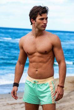 3d7605a7b9b1b SoBe Lime Swimmer – Sauvage Swimwear Fashion, Swimwear 2015, Summer Swimwear,  Mens Designer