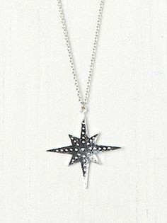 Free People Solid Supernova Pendant at Free People Clothing Boutique on Wanelo