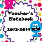 This adorable Monster-Themed Teacher Notebook is an educator's best friend for organization. All your important info can be found in one organized/...