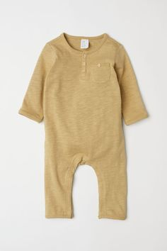 459be78ba8 BABY EXCLUSIVE CONSCIOUS. Long-sleeved overall in soft