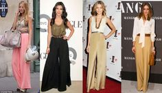 Palazzo Pants Trend for Fall Fashion
