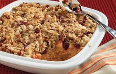 Sweet Potato Crisp. A delicious #casserole for any family gathering.