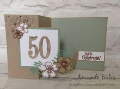 The Craft Spa - Stampin' Up! UK independent demonstrator : Affectionately Yours Double Z Fold Panelled Card