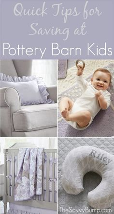 Love Pottery Barn Kids but don't want to pay full price? Here are some great tips to save at this amazing store!