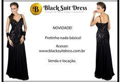 Arrase! #vestido #vestidopreto #elegância #chic #pretinhobásico #blacksuitdress #festa #moda #novidade