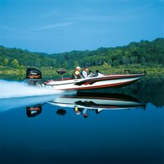 bass boat - - this will get me to where those fish are hiding