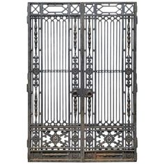 Internal Gates | From a unique collection of antique and modern doors and gates at https://www.1stdibs.com/furniture/building-garden/doors-gates/