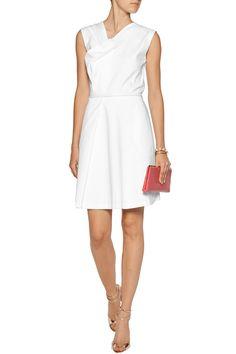 RaoulDrew draped cotton-blend dress