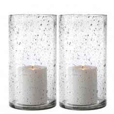 hand cut glass candle holder hurricane large set of 2 transparent eichholtz furniture usa oroa Eichholtz, Luxury, Candles, Luxury Living, Settings, Artificial Candles, Glass, Usa Furniture, Glass Candle Holders