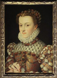 Elisabeth of Austria (5 July 1554 – 22 January 1592) born an Archduchess of Austria, was Queen of France from 1570 to 1574 as the consort of Charles IX of France. A member of the House of Hapsburg, she was the daughter of Maximilian II, Holy Roman Emperor and Maria of Spain.