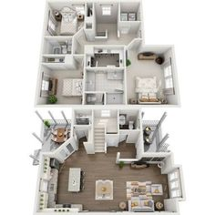 Wohnung Untitled Untitled Time To Build That Deck You've Always Wanted? Sims House Plans, House Layout Plans, Dream House Plans, House Layouts, House Floor Plans, Sims 4 Houses Layout, Bungalow Floor Plans, Home Building Design, Home Room Design