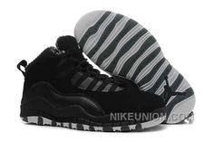 http://www.nikeunion.com/air-jordan-10-authentic-stealth-black-white-lastest.html AIR JORDAN 10 AUTHENTIC STEALTH BLACK WHITE LASTEST Only $70.78 , Free Shipping!