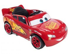 Pixar Lightning McQueen Cars Battery-Powered Ride-On by Huffy, Red Lightning Mcqueen Race Car, Lightning Mcqueen Birthday Cake, Disney Pixar Cars, Only At Walmart, Car Sounds, Amazing Race, Ride On Toys, Kids Toys, 25th Birthday