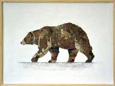 Stone art Bear