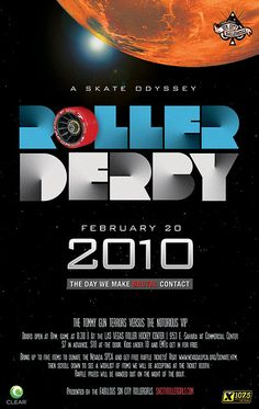 Saturday, February 2010 at the Las Vegas Roller Hockey Rink Brick Wallpaper Iphone, City Roller, Sin City, Roller Derby, Poster Ideas, Posters, Board, Girls, Collection