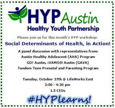 Social Determinants Of Health, Adolescence, Workshop, October, Join, Atelier, Work Shop Garage