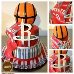 Houston Rockets Cake