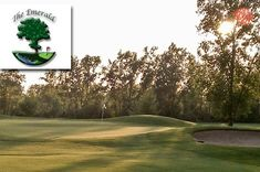 $25 for 18 Holes with Cart and a Bucket of Range Balls at The Emerald #Golf Course in Saint Johns ($62 Value. Good Any Day, Any Time until November 1, 2014.)  https://www.groupgolfer.com/redirect.php?link=1sqvpK3PxYtkZGdjcH6k
